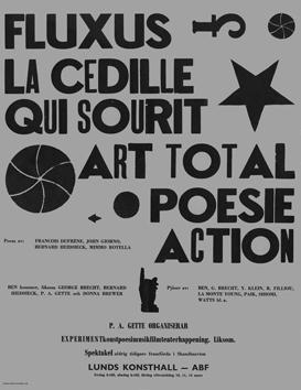 Fluxus la cedille 1967