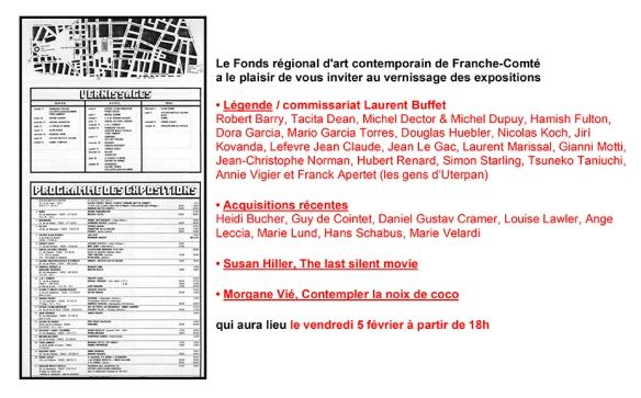 invitation légende